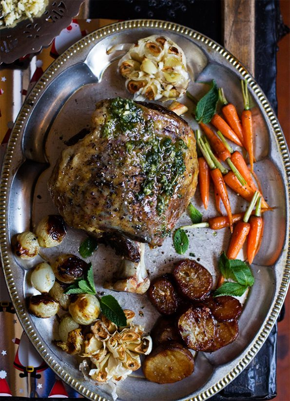 how to cook leg of lamb in oven slow
