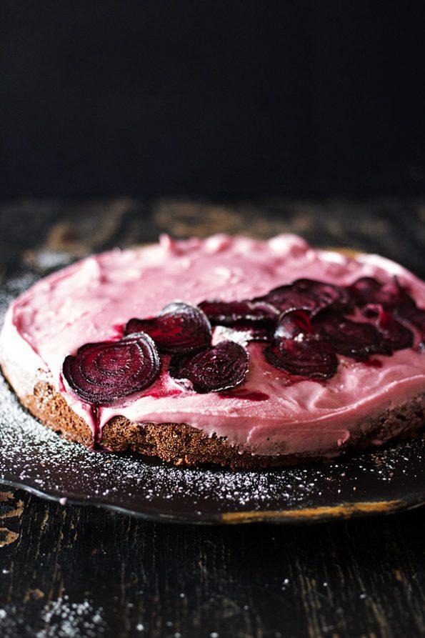 Beetroot And Dark Chocolate Cake