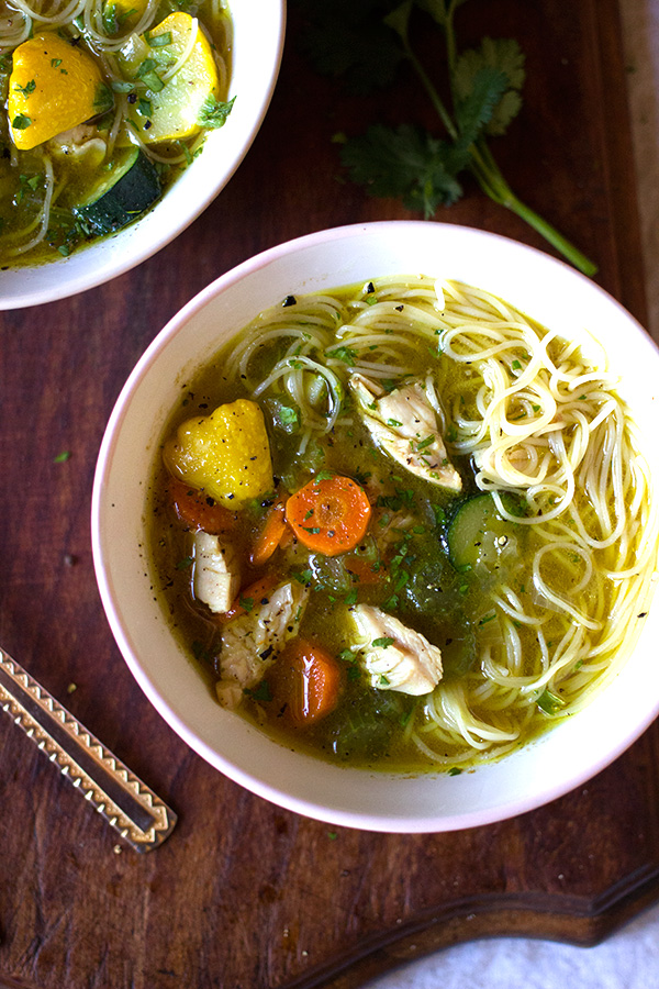 how to cook vegetable noodle soup
