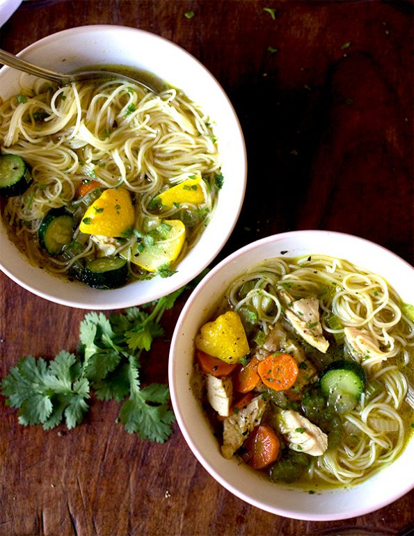 Chicken vegetable and noodle soup aninas recipes for What vegetables to put in chicken noodle soup