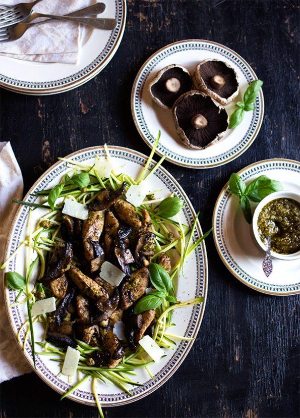 mushroom chicken zucchini chinese recipe