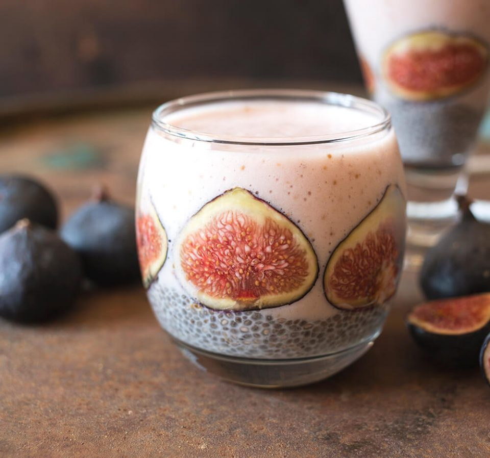 Fig and Chia Seed Smoothie